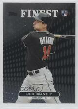 2013 Topps Finest #56 Rob Brantly Miami Marlins RC Rookie Baseball Card