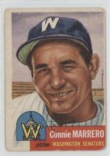 1953 Topps #13 Connie Marrero Washington Senators Baseball Card
