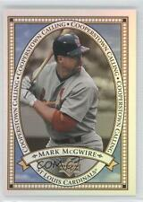 2000 Upper Deck Cooperstown Calling #CC12 Mark McGwire St. Louis Cardinals Card