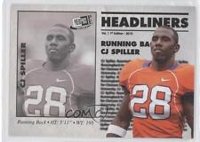 2010 Press Pass Portrait Edition Headliners #HL-6 CJ Spiller Clemson Tigers C.J.