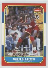 1996-97 Fleer Decade of Excellence #14 Hakeem Olajuwon Houston Rockets Card