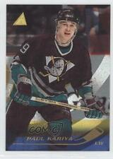 1995-96 Pinnacle Rink Collection 2 Paul Kariya Anaheim Ducks (Mighty of Anaheim)