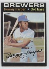 1971 Topps #260 Tommy Harper Milwaukee Brewers Baseball Card