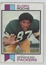 1973 Topps #318 Alden Roche Green Bay Packers RC Rookie Football Card