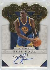 2011 Panini Preferred Gold Autographed #287 Ekpe Udoh Golden State Warriors Auto
