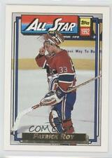 1992-93 Topps Gold #263 Patrick Roy Montreal Canadiens Hockey Card