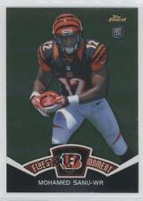 2012 Topps Finest Moments #FM-MS Mohamed Sanu Cincinnati Bengals Football Card