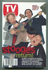 TV Guide-Three Stooges-Philadelphia Edition-APRIL 2000-VG