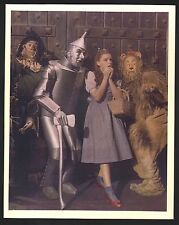Wizard of Oz-Judy Garland, Ray Bolger, and Bert Lahr-8x10-Color-Still