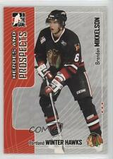 2005 In the Game Heroes and Prospects #165 Brendan Mikkelson Chicago Blackhawks