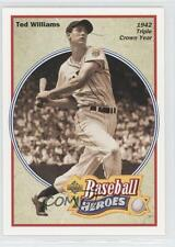 1992 Upper Deck Baseball Heroes #30 Ted Williams Boston Red Sox Card