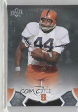 2011 Upper Deck Exquisite Collection #10 Floyd Little Syracuse Orangemen Card