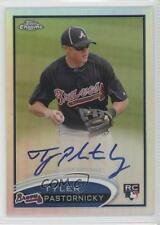2012 Topps Chrome Rookie Autograph Refractor #183 Tyler Pastornicky Auto Card