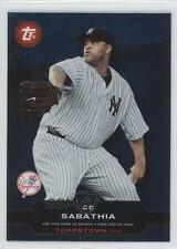 2011 Topps Update Series Toppstown #TTU-44 CC Sabathia New York Yankees Card