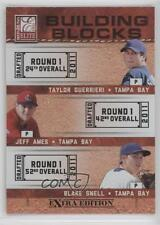 2011 Donruss Elite Extra Edition #6 Blake Snell Jeff Ames Taylor Guerrieri Card