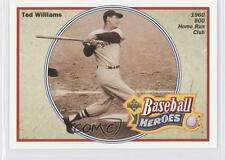 1992 Upper Deck Baseball Heroes #34 Ted Williams Boston Red Sox Card
