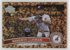 2011 Topps Update Series US229.2 Roberto Alomar (Legends) Cleveland Indians Card