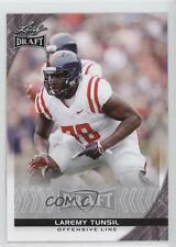 2016 Leaf Draft #59 Laremy Tunsil Ole Miss Rookie Football Card
