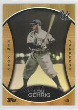 2010 Topps Legends Chrome Cereal Target Gold #GC16 Lou Gehrig New York Yankees