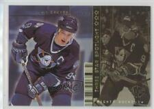 1998 Upper Deck UD3 34 Paul Kariya Anaheim Ducks (Mighty of Anaheim) Hockey Card