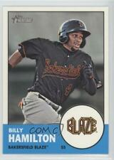 2012 Topps Heritage Minor League Edition #10.1 Billy Hamilton (Base) Rookie Card