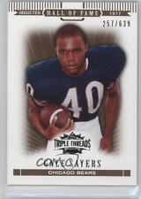 2007 Topps Triple Threads Sepia #97 Gale Sayers Chicago Bears Football Card