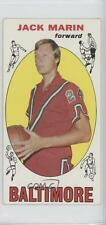 1969-70 Topps #26 Jack Marin Baltimore Bullets RC Rookie Basketball Card