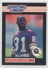 1989 Kenner Starting Lineup #ANCA Anthony Carter Minnesota Vikings Football Card