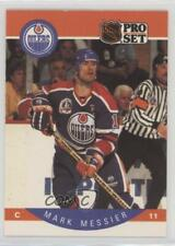 1990-91 Pro Set #91 Mark Messier Edmonton Oilers Hockey Card
