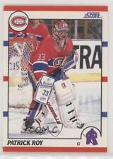 1990-91 Score American #10 Patrick Roy Montreal Canadiens Hockey Card