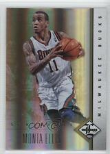 2012-13 Limited Spotlight Gold #49 Monta Ellis Milwaukee Bucks Basketball Card