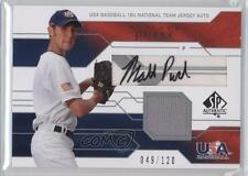 2008 SP Authentic #JTA-MP Matt Purke Team USA (National Team) Auto Baseball Card