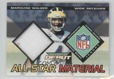2002 Topps Debut All-Star Materials #AM-MW Marquise Walker Michigan Wolverines