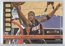 2006-07 Topps Full Court Photographers Proof Gold #3 Dwyane Wade Miami Heat Card