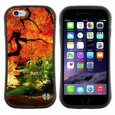Anti-Shock Tpu Case Bumper Cover For Apple iPhone In the shade of autumn tree