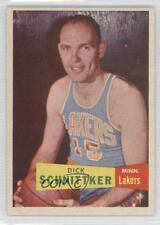 1957 Topps #80 Dick Schnittker Los Angeles Lakers Minneapolis RC Basketball Card
