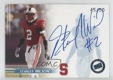 2005 Press Pass Autographs Blue #STWI Stanley Wilson Stanford Cardinal Auto Card