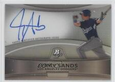 2010 Bowman Platinum Chrome Autograph Refractor #BPA-JS Jerry Sands Auto Card