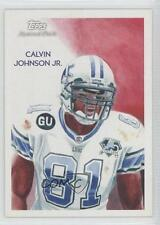 2009 Topps National Chicle #C170 Calvin Johnson Detroit Lions Football Card