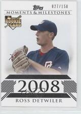 2008 Topps Moments & Milestones #180 Ross Detwiler (National League Rookie) RC