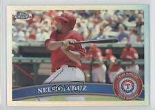 2011 Topps Chrome Refractor #74 Nelson Cruz Texas Rangers Baseball Card