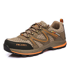 GOMNEAR men hiking trekking outdoor shoes athletic walking non slip trail shoes
