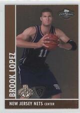 2008-09 Topps Co-Signers Bronze Foil 110 Brook Lopez New Jersey Nets Rookie Card