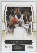 2009 Panini Classics Timeless Threads Memorabilia 78 Dwight Howard Orlando Magic