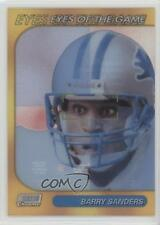 1999 Stadium Club Chrome Eyes of the Game #SCCE22 Barry Sanders Detroit Lions
