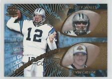 1997 Pacific Crown Collection #5 Wesley Walls Kevin Greene Kerry Collins Card