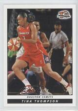 2006-07 Rittenhouse WNBA #91 Tina Thompson Houston Comets (WNBA) Basketball Card