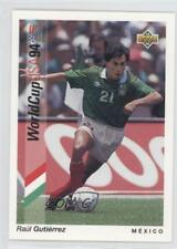 1993 Upper Deck World Cup 94 Preview English/Spanish #31 Raul Gutierrez Mexico