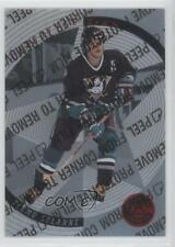 1997 Pinnacle Certified Team #16 Teemu Selanne Anaheim Ducks (Mighty of Anaheim)