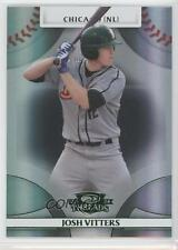 2008 Donruss Threads Green Century Proof #95 Josh Vitters Chicago Cubs Card